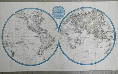 Map of the World, Shewing the Tracks & Discoveries of