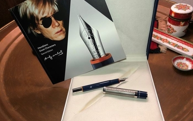 Montblanc Andy Warhol Füllfederhalter Geat Characters - Fountain pen - Part of 1