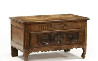 Reconstructed Louis XV One Drawer Low Table