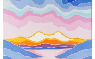 Ted Harrison (Canadian, 1926-2015) Going Home, 1982
