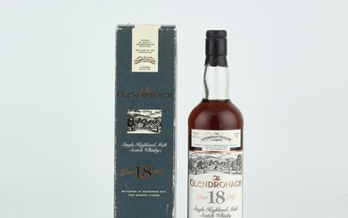 The Glendronach 18 Year Old 1976 (1 BT70)