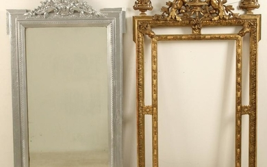 Two antique French mirrors