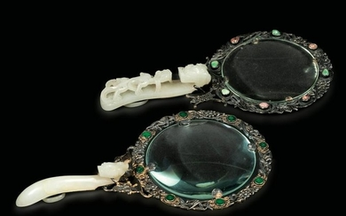 Two magnifying glasses, China, Qing Dynasty