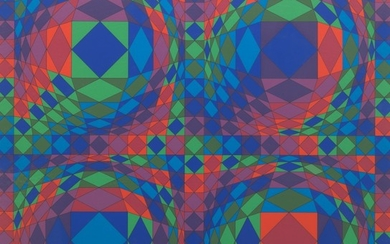 Victor Vasarely (Hungarian/French, 1908 - 1997)
