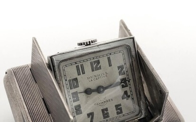 Vintage watch Art deco Signed Dunhill by Tavannes La Captive