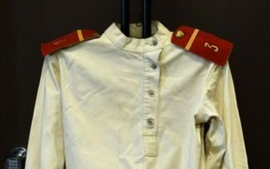 WWI Russian Third Narva Infantry Regiment Tunic and Hat