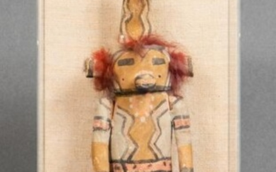 Zuni or Hopi Native American Kachina Figure