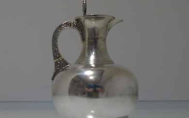19th Century Antique Victorian Sterling Silver Wine/