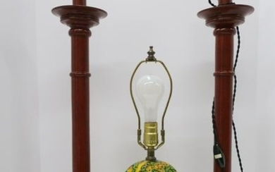 3 Asian & Lacquer Lamps