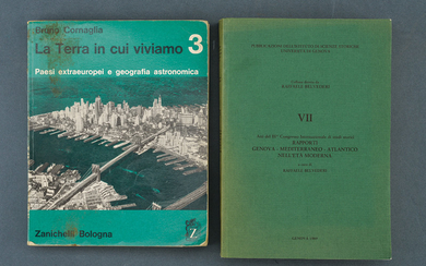 A LOT OF TWO VOLUMES ON HISTORY AND GEOGRAPHY