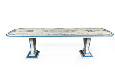 A ROCOCO STYLE DINING TABLE