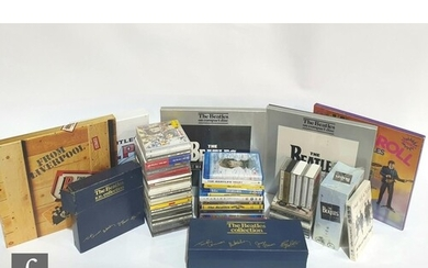 A comprehensive Beatles CD, cassette and DVD collection, to ...
