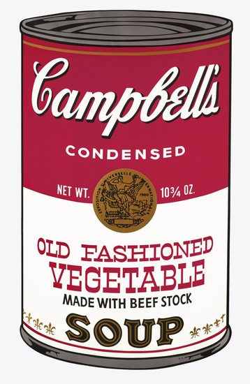 ANDY WARHOL | OLD FASHIONED VEGETABLE (F. & S. II.54)