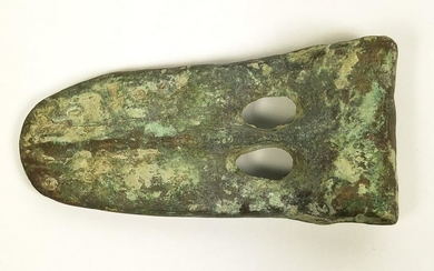 "Ancient Canaanite Bronze ""Duckbill"" Axe Head"