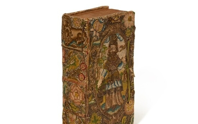 BIBLE | 1645, embroidered binding