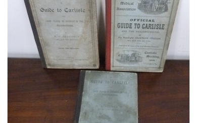 FERGUSON R. S. Guides to Carlisle. 3 eds. in orig...