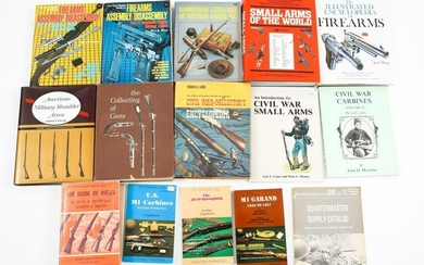 FIREARM REFERENCE BOOK LOT OF 15