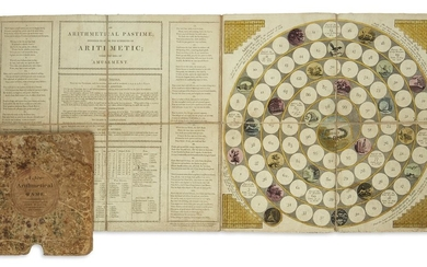 (GAMES.) Wallis, John. An Arithmetical Pastime; Intended to Infuse the Rudiments of Arithmetic; Under the Idea of Amusement.