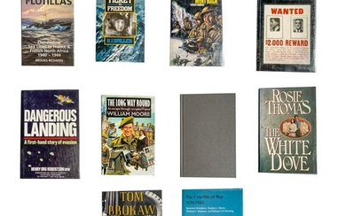 Group of Vintage WW2 Books