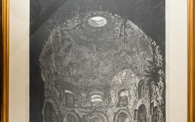 Interior of the so called Tempio della Tosse