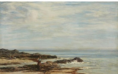 JOSEPH HENDERSON R.S.W (SCOTTISH 1832-1908) LOOKING OUT