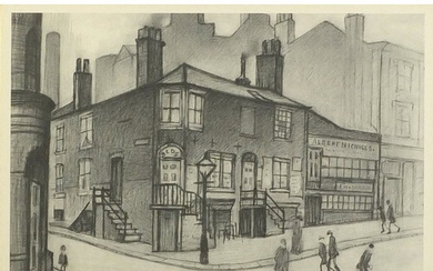 Laurence Stephen Lowry - Great Ancoats Street, Manchester, ...