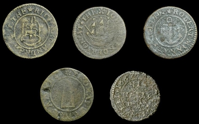 London 17th Century Tokens from the Collection of