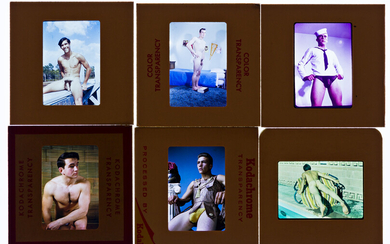 (MALE PHYSIQUE MODELS) A group of approximately 240 35mm col