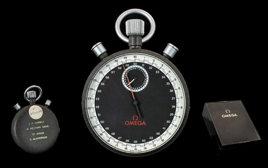 Omega Olympic Rare 1960's Mechanical Winding Stop Watch with...