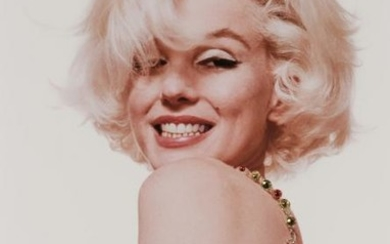 STERN, BERT (1929-2013) Marilyn Monroe with jewels, from The Last Sitting for Vogue