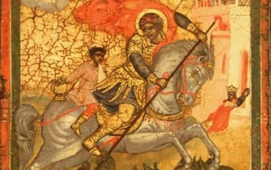 Saint George Slaying the Dragon (Greece)