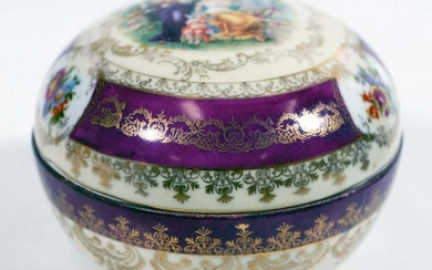 Vienna Covered Round Box