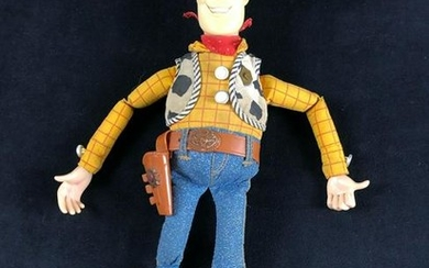 "Vintage Woody Toy Story 16"" Talking Figure 1995"