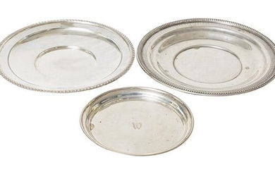 Wallace Sterling Silver Bread Tray Plus