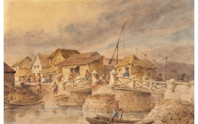 William Prinsep (1794-1874), Bridge at Penang
