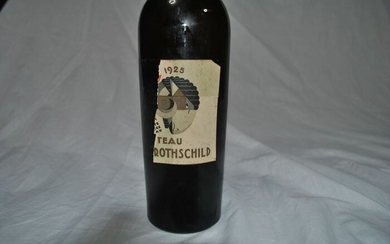 1925 Chateau Mouton Rothschild - Pauillac 2éme Grand Cru Classé - 1 Bottle (0.75L)