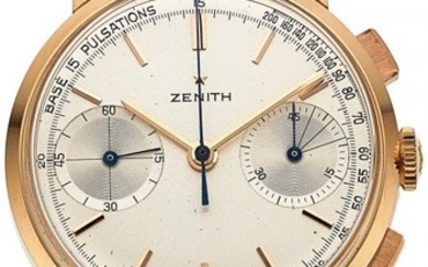 54067: Zenith, Very Rare Pulsation's Dial Chronograph