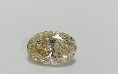 5,54ct natural oval cut diamond,m colour,i2 clarity,natural,treated by laser drilling to remove inclusion,appraisal £19500