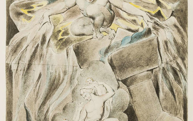 Blake (William) Illustrations of the Book of Job, 6 parts, New York, Pierpont Morgan Library, 1935.