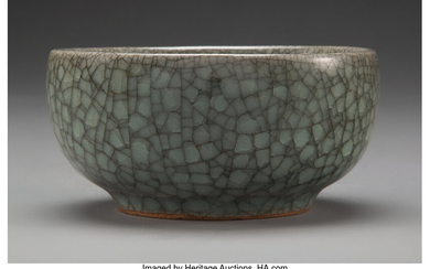 A Chinese Guan Ware Bowl (late Ming-early Qing Dynasty)