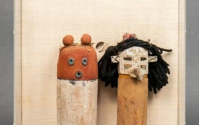 Antique Zuni or Hopi Kachina Dolls, 2
