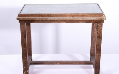 Asian Manner Wood Side Table