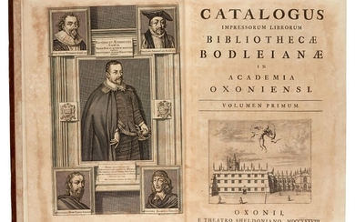 BODLEIAN LIBRARY | Catalogue, 1738