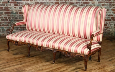 CARVED FRENCH SOFA LOUIS XV STYLE C.1900