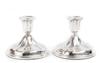 Candlesticks 1 pair of silver