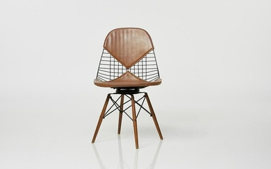 Charles and Ray Eames Dowel Leg Side Chair