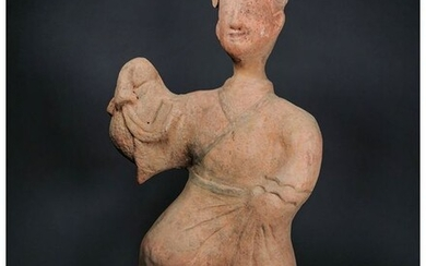 Chinese Han Dynasty Terracotta Attendant Figure - TL Tested