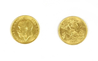 Coins, South Africa, George V (1910-1936)