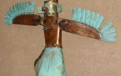 Dale Andersen Copper Kachina Sculpture
