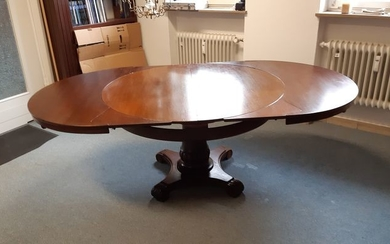Dining table - Biedermeier - Mahogany - circa 1840